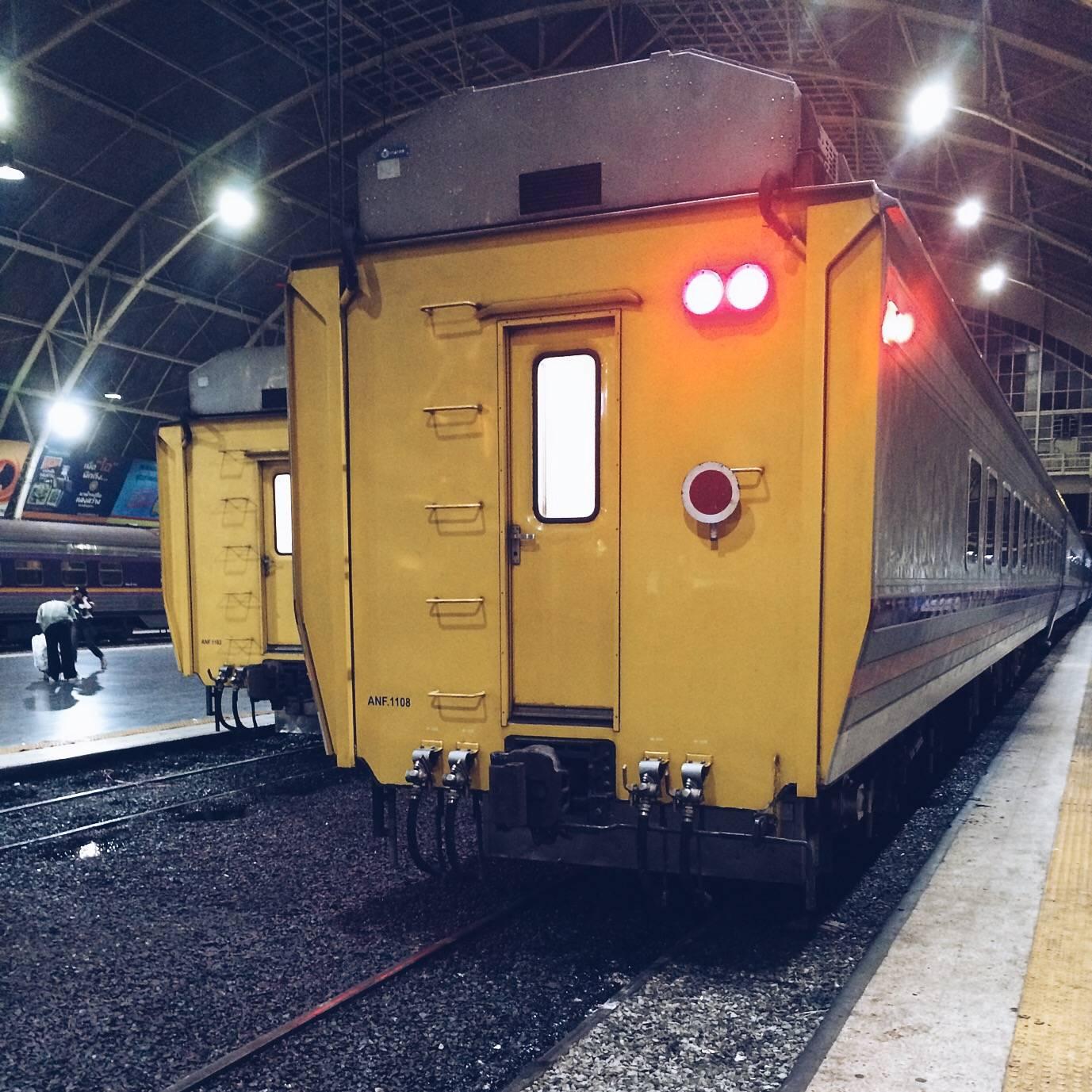 Поезд из Нонг Кхая в Бангкок