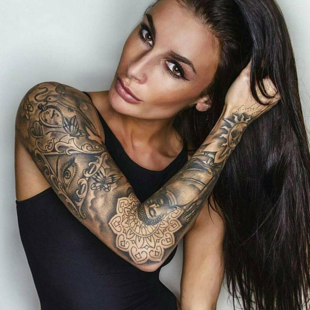 Идеи татуировок для девушек