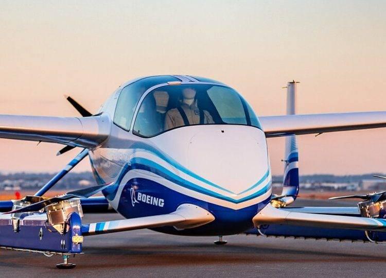 Авиастроительная компания Boeing провела испытания беспилотного аэротакси