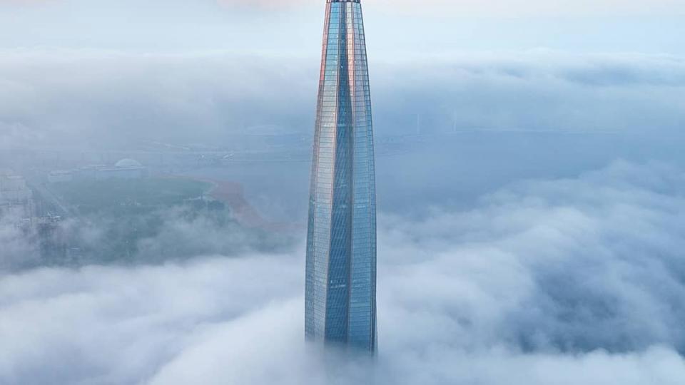 Самый высокий небоскреб в России