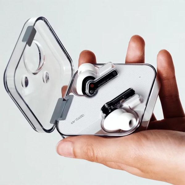 прозрачные беспроводные наушники